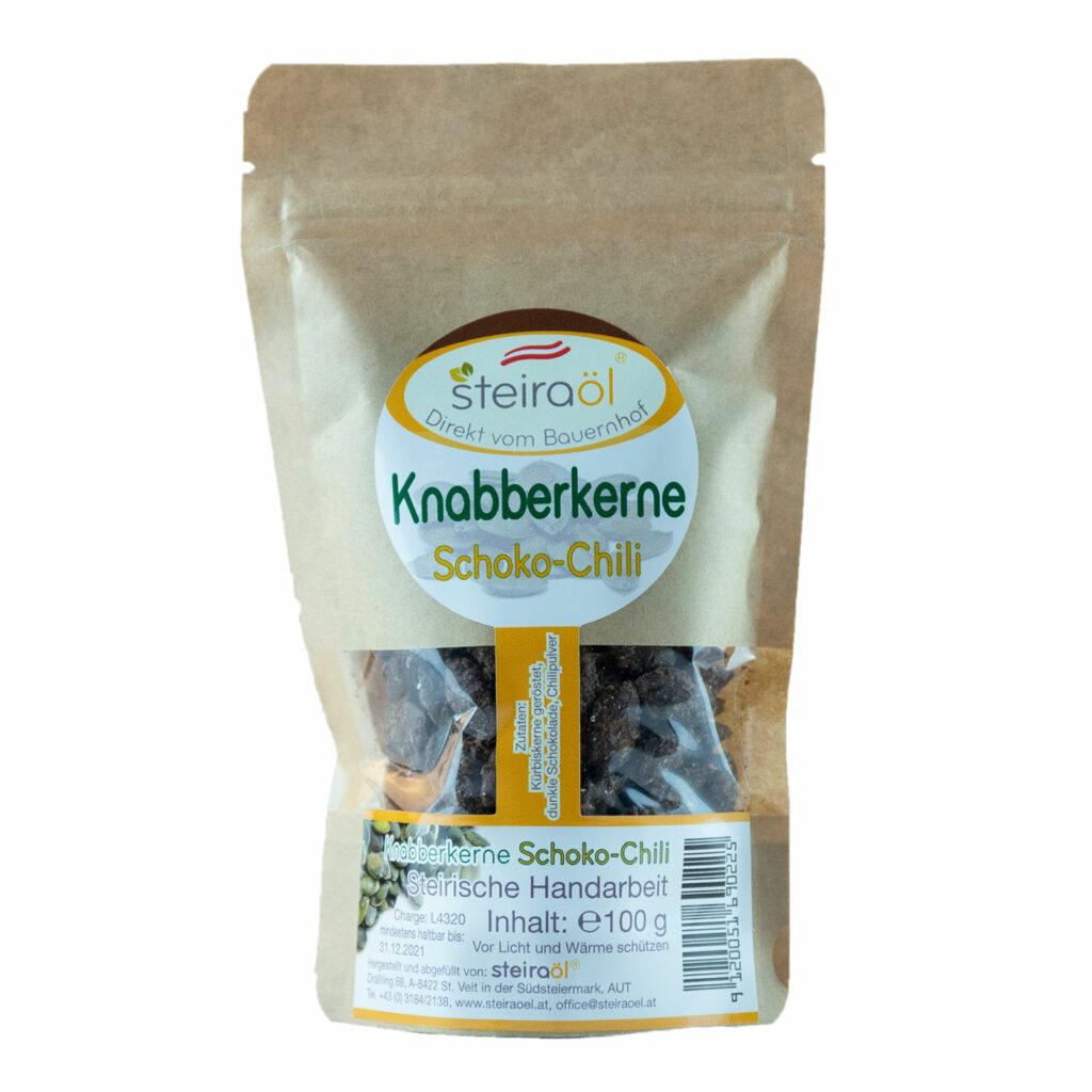 Knabberkerne Schoko-Chili 100g